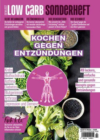 Bewusst Low Carb Sonderheft Vol. 2 Entzündungen