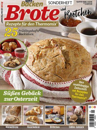 Simply Backen Sonderheft – Brote und Brötchen mit dem Thermomix® 02/2019