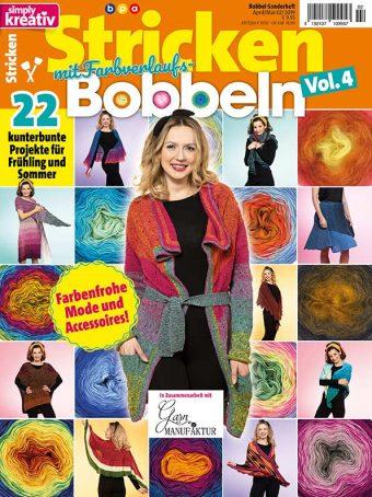 Simply Kreativ – Stricken mit Verlaufs-Bobbeln 02/2019