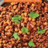 Rezept - Kichererbsen-Hackfleisch-Pfanne - Simply Kochen mit und für Kinder - mit Nina Kämpf von Mamaaempf