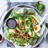 Rezept - Salat mit gegrilltem Kalbfleisch, Erbsen, Gurken und frischen - Simply Kreativ Sonderheft Best of CraSy Sylvie