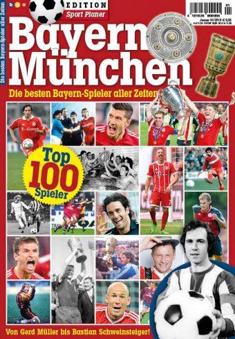 Sport Planer EDITION Bayern München 01/2019