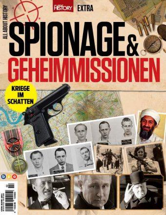 All About History Extra Spionage und Geheimmissionen