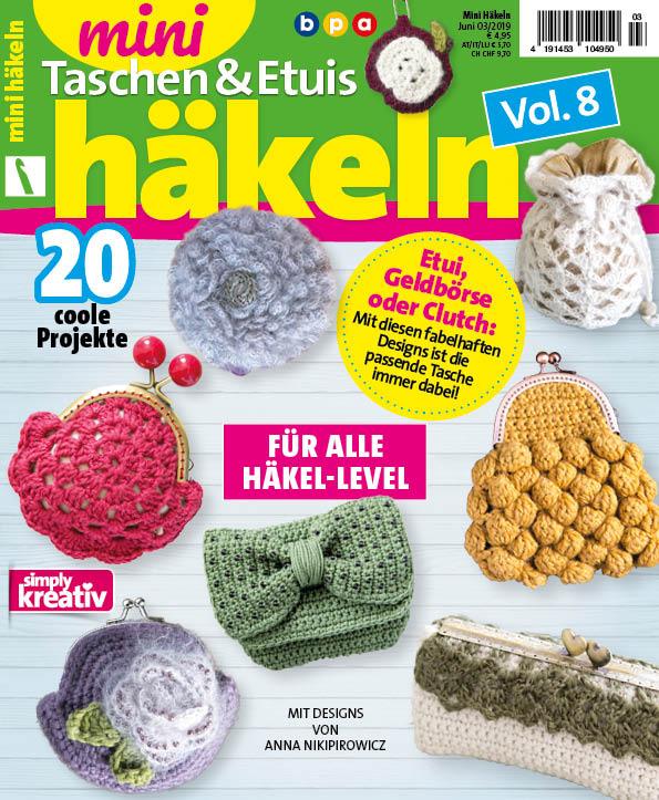 Taschen 032019 Vol8 Und Mini Etuis Häkeln – mn0wN8yOvP