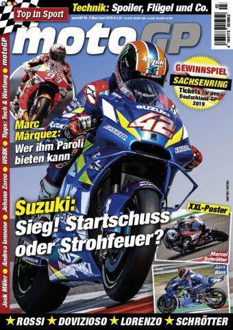 Top in Sport – MotoGP Heft 03/2019