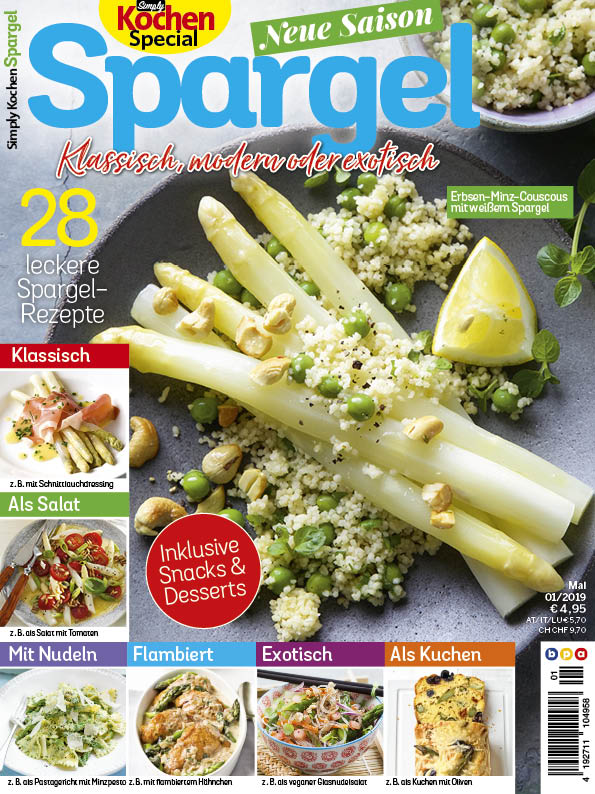 Simply Kochen Special Spargel