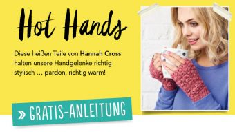 Gratis Häkelanleitung - Hot Hands