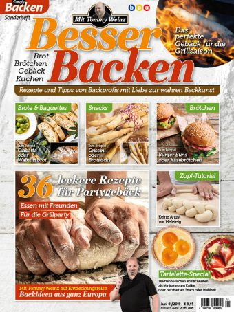Simply Backen Sonderheft Besser Backen mit Tommy Weinz