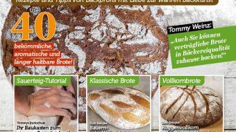 Simply Backen Sonderheft Brote backen mit Tommy Weinz 02/19