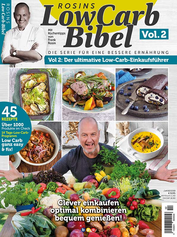 Rosins Low Carb Bibel Vol. 2