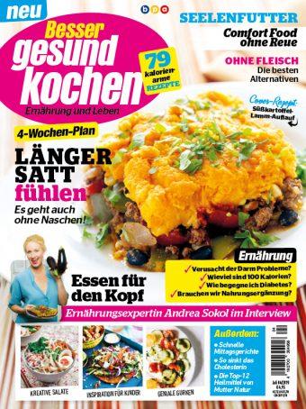 Besser gesund Kochen – 04/2019