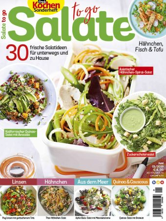 Simply Kochen Sonderheft Salate to go