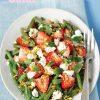 Rezept - Grüne-Bohnen-Erdbeer-Salat mit Feta und Minze - Simply Kochen Sonderheft Sommer-Salate