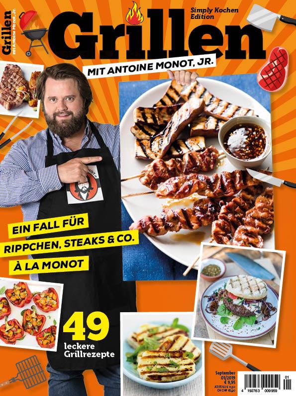 Simply Kochen Edition: Grillen mit Antoine Monot Jr.
