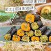 Rezept - Nori-Rollen mit Avocado und Sprossen oder mit Süßkartoffeln und Sprossen - Clean Food - olala solala mit Andrea Sokol - 01/2019