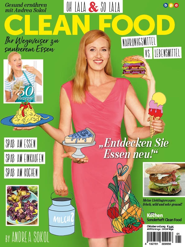 Simply Kochen Sonderheft Clean Food mit Andrea Sokol