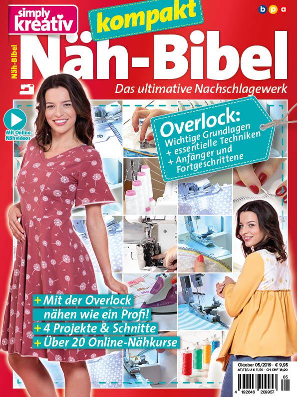 Simply Kreativ Näh-Bibel kompakt 05/2019