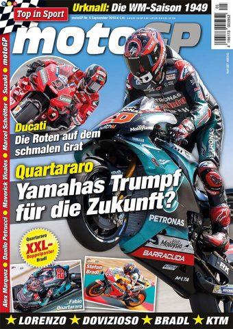 Top in Sport – MotoGP Heft 05/2019