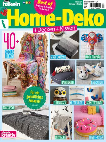 Best of Simply Häkeln Home-Deko 03/2019