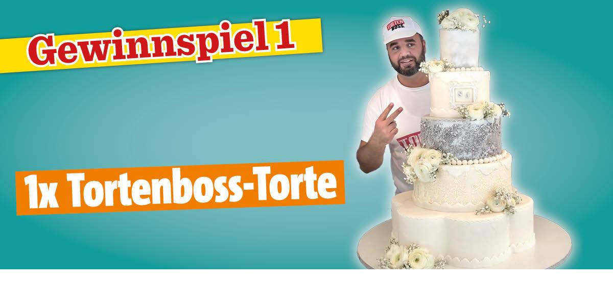 Gewinnspiel Das große Backen® 06/2019 - Tortenboss-Torte