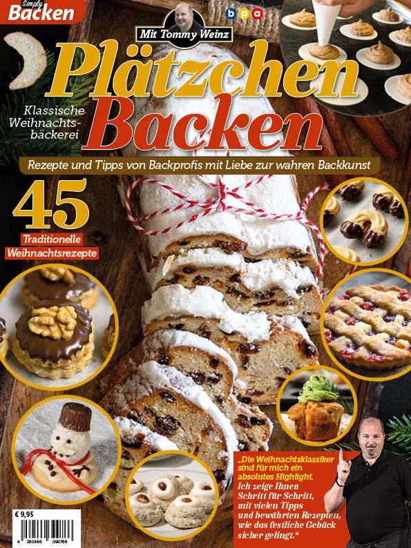 Simply Backen Plätzchen backen mit Tommy Weinz 04/2019