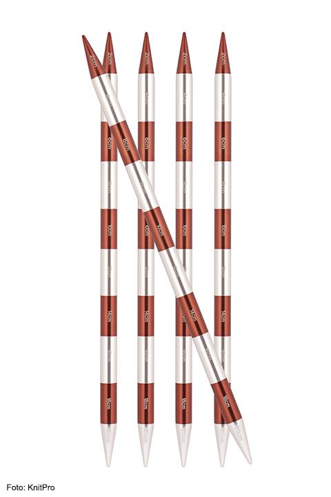 KnitPro SmartStix Nadelspiel 20 cm lang