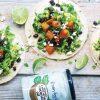 Rezept - Tacos mit Butternusskürbis und Bohnen - Healthy Vegan Sonderheft - Vegan Jahrbuch