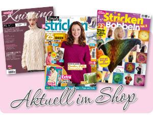 Aktuelle Strickmagazine im Simply Kreativ Shop