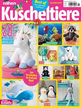 Best of Simply Nähen Kuscheltiere