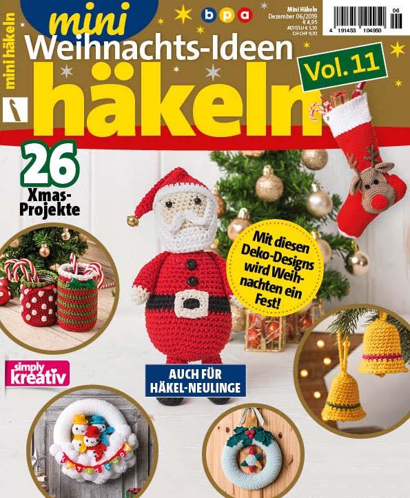 Mini Häkeln Weihnachts-Ideen Vol. 11