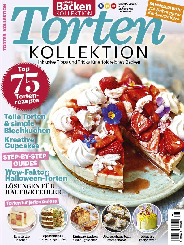 Simply Backen Kollektion Torten 01/2021