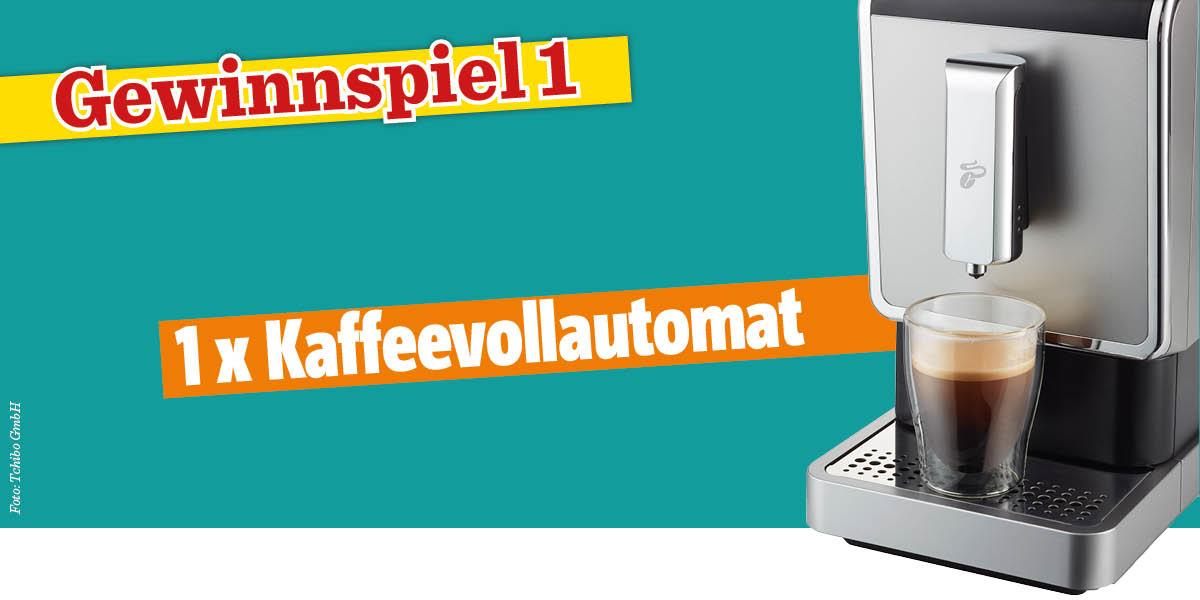 Gewinnspiel Das große Backen® 01/2020 - Kaffeevollautomat