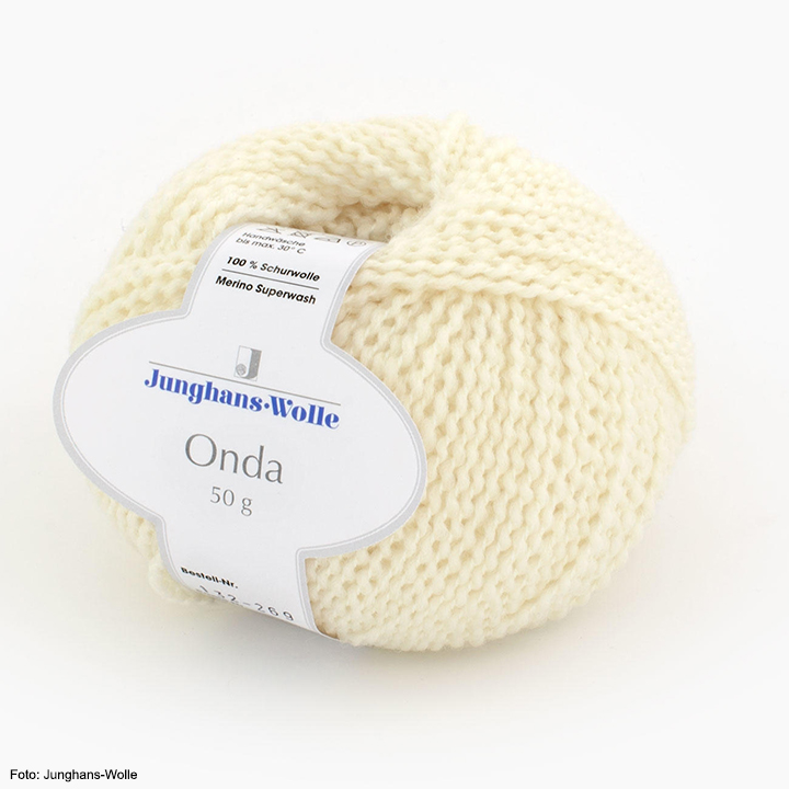 Onda Junghans-Wolle, creme