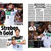 Uwe Gensheimer - Sport Planer Handball EM 2020 + Beileger