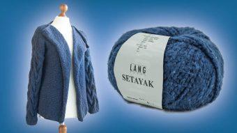 Lang Yarns Setayak Classic Blue