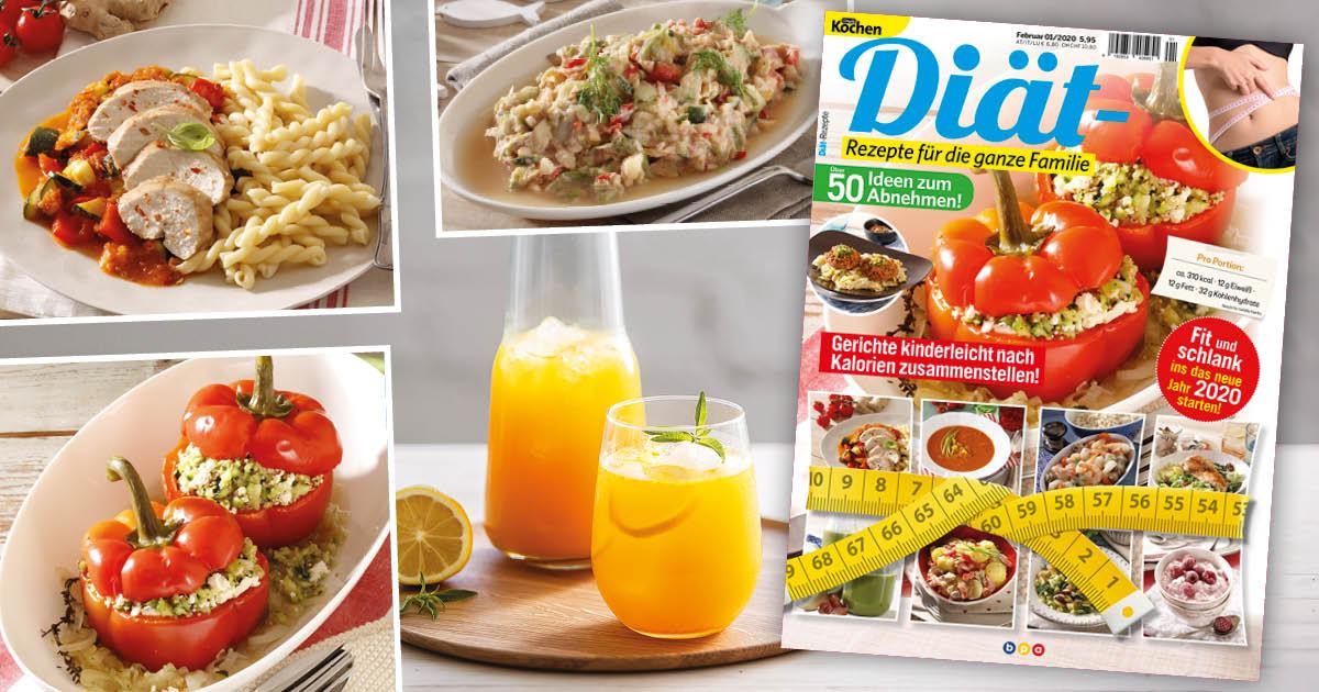 Simply Kochen Diät-Rezepte für die ganze Familie