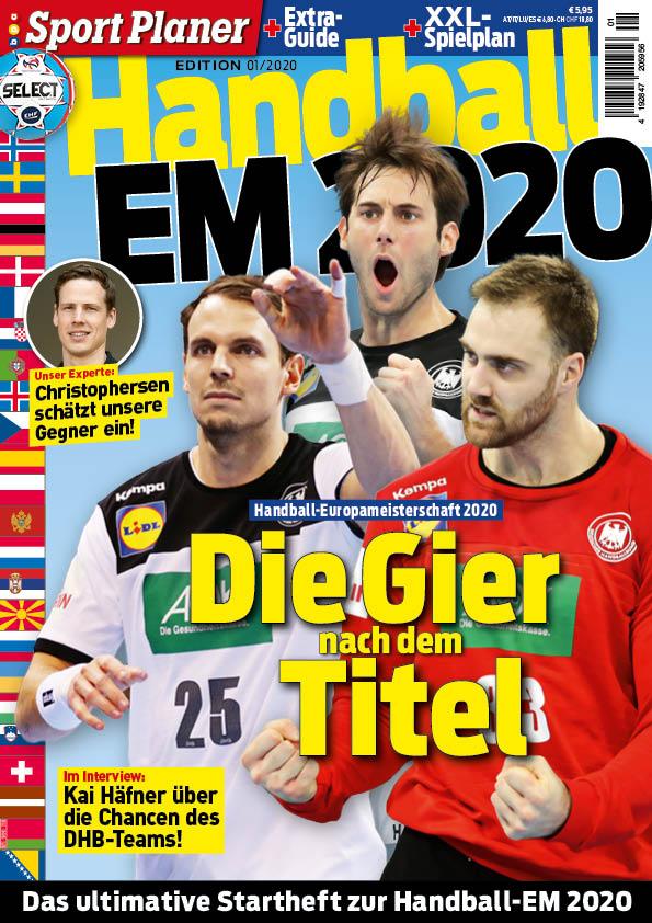 Sport Planer Handball Em 2020 Beileger
