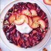 Rezept - Gedrehter Pflaumenkuchen - Vegan Food & Living – 02/2020