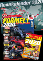 Top in Sport Special: Formel 1 Startheft + Planer 2020