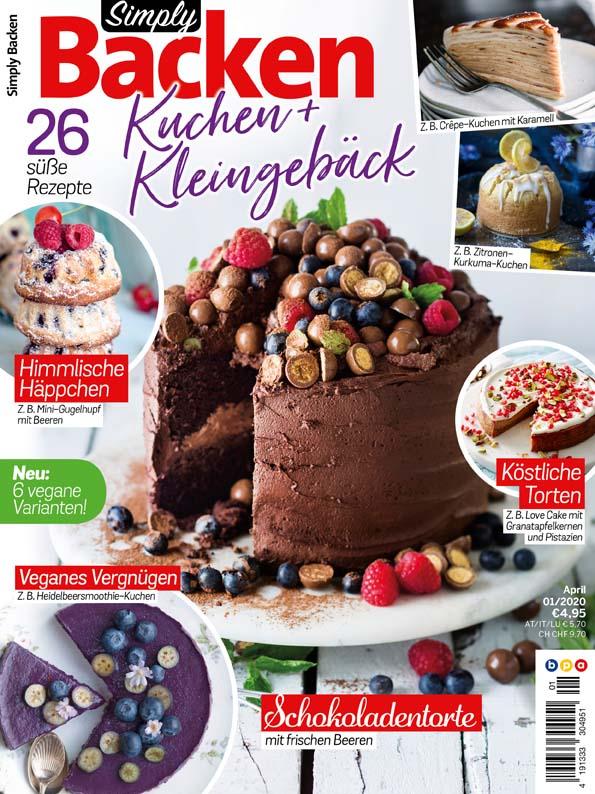 Simply Backen Kuchen & Kleingebäck – 01/2020
