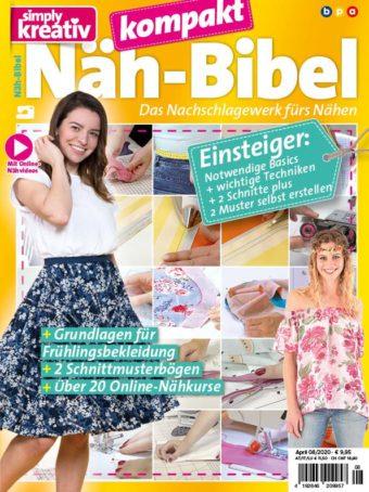 Simply Kreativ Näh-Bibel kompakt 08/2020