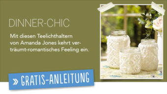 Gratis Strickanleitung - Dinner Chic