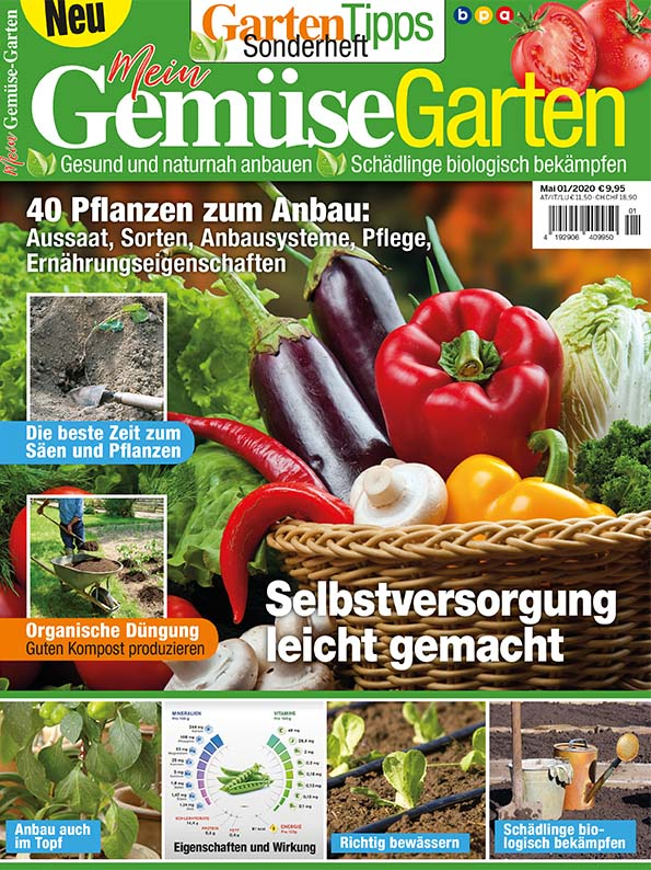 Garten-Tipps Sonderheft: Mein Gemüsegarten – 01/2020