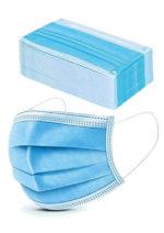 20 Stck. Einweg-Mundschutzmasken mit Schlaufen