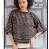Strickanleitung - Striped Pullover - Designer Knitting 03/2020