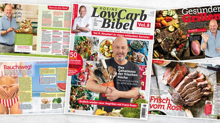 Rosins Low Carb Bibel Vol. 8