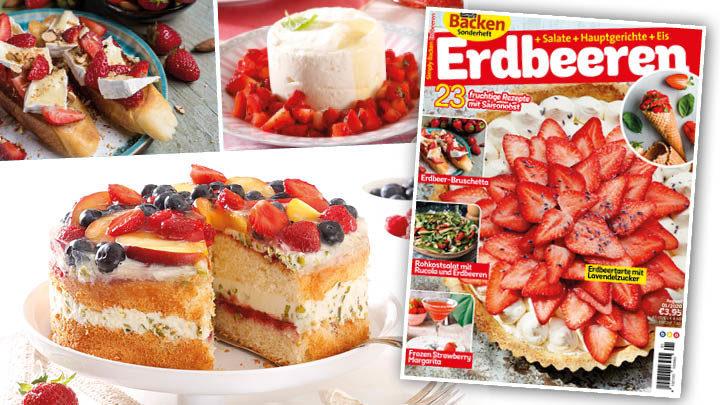 Simply Backen Sonderheft Erdbeeren – 01/2020