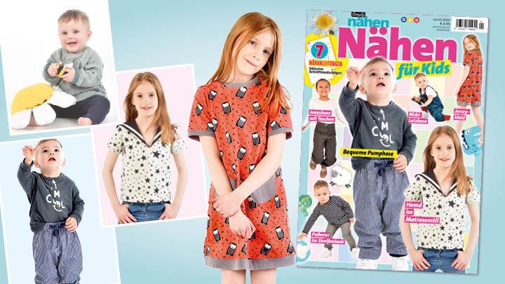 Simply Nähen – Nähen für Kids 01/2020