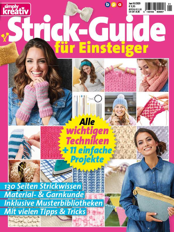 Simply Kreativ Strick-Guide für Einsteiger – 01/2020