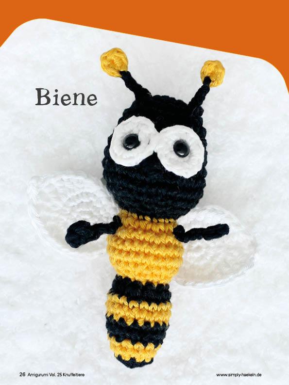 Häkelanleitung Kleine Biene | Sabrina's Crochet | 794x595